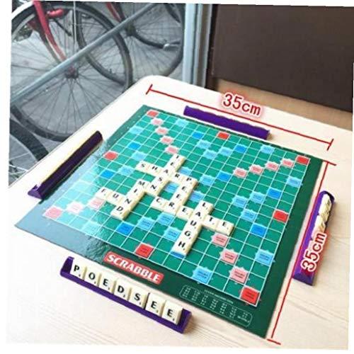 Case Cover Brettspiel Englisch Kreuzwort Rechtschreibung Spiel für Kinder Englisch Russisch Koreanisch Anleitung Indoor Games