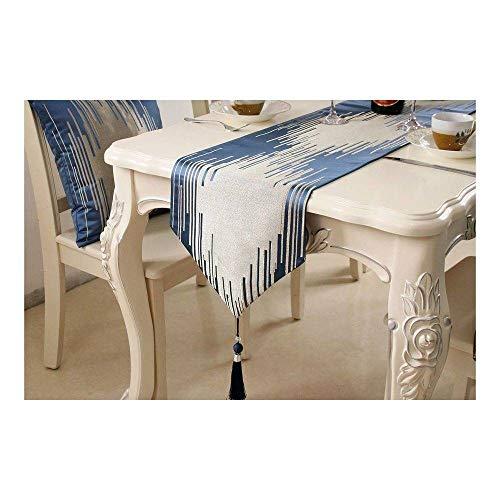 CUIZC Camino de mesa Piano Key Stripe Camino de mesa de café Zapatero cubierta de tela Hotel modelo Habitación Cama Bandera Decoración
