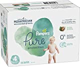 Diapers Size 4, 150 Count - Pampers Pure Protection Disposable Baby Diapers, Hypoallergenic and Unscented Protection, ONE MONTH SUPPLY diaper bag backpack May, 2021