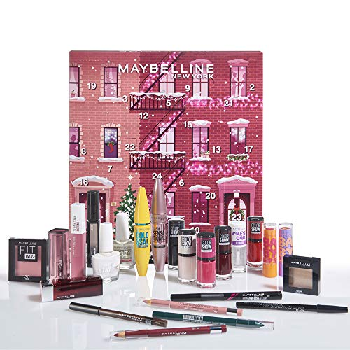 Maybelline New-York - Calendrier de lAvent 2020 - Coffret de