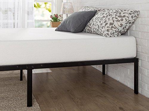 Zinus – Marco de cama con plataforma de metal de 40.6 cm con soporte de láminas de acero / base de…