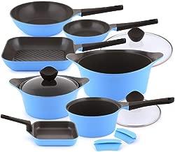 Neoflam Aeni Cookware Set 10 Pcs-Blue