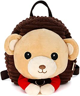 SMONT Cartoon Kid Plush Backpack Cute Animals Mini Animal Toddler Bag for Baby Boy and Girl Age 1-5 Years