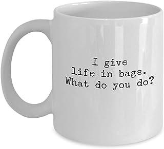 Blood Donation Coffee Mug, Blood Donor, Transfusion Medicine Tea Cup, White Ceramic 11oz or 15oz, Large Coffee Mug