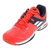 Babolat 32S17478-201 Propulse All Court Synthetic Tennis Shoes, Junior UK 2 (Fluorescent Red)