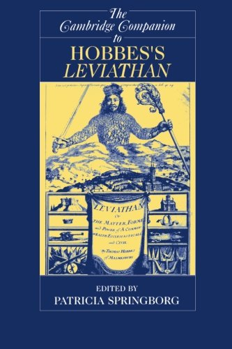 The Cambridge Companion to Hobbes's Leviathan (Cambridge Companions to Philosophy)