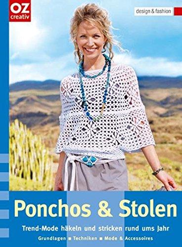 Ponchos & Stolen: Trend-Mode häkeln und stricken rund ums Jahr. design & fashion