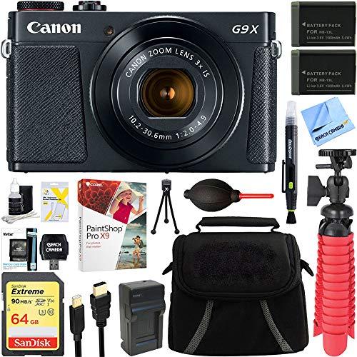 Canon PowerShot G9 X Mark II Digital Camera + Accessory Bundle