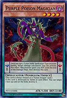 Best purple poison magician Reviews