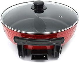 YWSZJ Pot à soupe électrique Hot Pot Pot de cuisine en acier inoxydable antiadhésif sans fumée