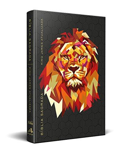 Bíblia King James Kja - Slim - Leão Vermelho