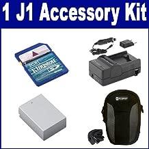 Nikon 1 J1 Digital Camera Accessory Kit includes: SDM-1549 Charger, SDC-22 Case, KSD2GB Memory Card, SDENEL20 Battery