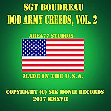 DoD Army Creeds, Vol. 2