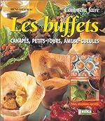 Comment faire les buffets - Canapés, petits-fours, amuse-gueules de Bruno Ballureau