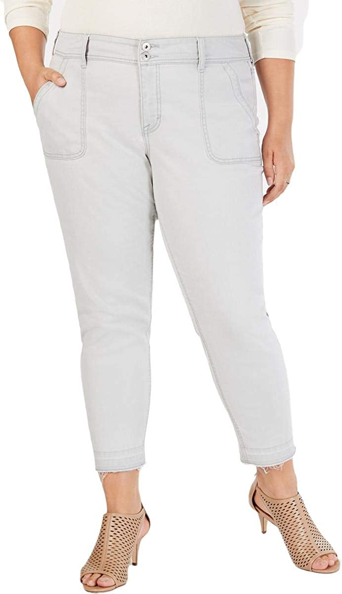 Style & Co. Womens Plus Denim Mid-Rise Skinny Jeans