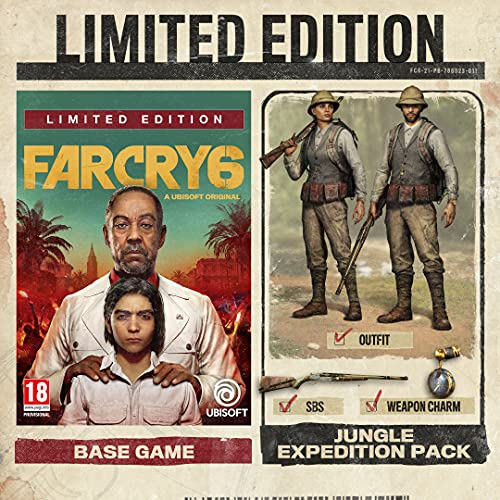 Far Cry 6 Limited Edition (Exclusive to Amazon.co.uk) (PS5)