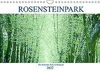Rosensteinpark - Der bedrohte Park in Stuttgart (Wandkalender 2022 DIN A4 quer): Der Rosensteinpark, die bedrohte Oase der Ruhe und Entspannung aller Stuttgarter Buerger. (Monatskalender, 14 Seiten )