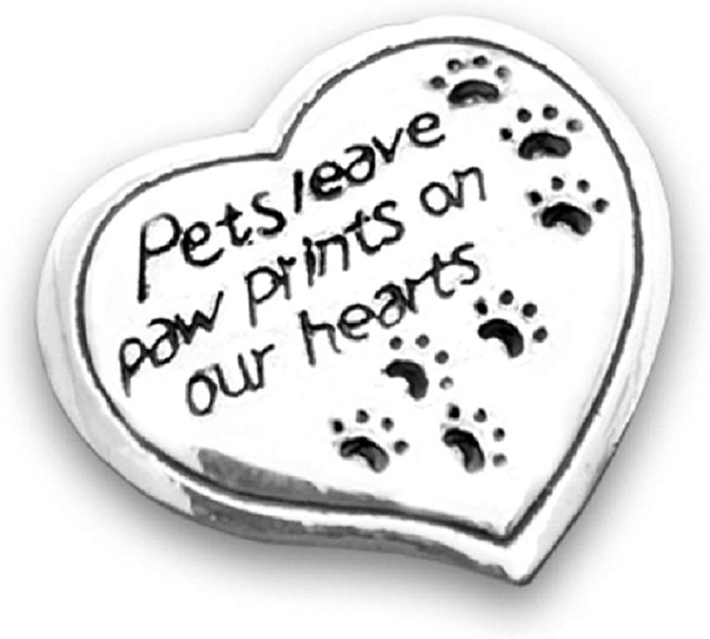 San Francisco Mall Pets Leave Paw Prints On Our 12 Bag Hearts a in Inventory cleanup selling sale Pins