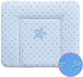 PatiChou Protezione materasso Cotone Impermeabile e Silenzioso protegge coprimaterasso per culla o lettino bambino 60x120 cm