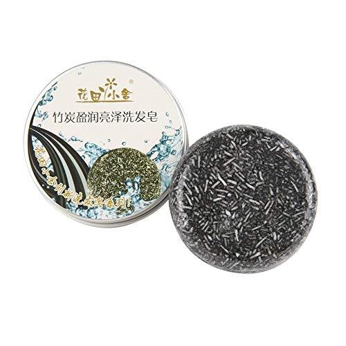 5Five Shampoo Pflanzliches ätherisches Öl Handmade Organic Soap Bar (Bamboo Charcoal)
