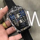 HNOLVH Orologi Meccanici da Uomo Orologio Meccanico Automatico da Uomo Orologio Luminoso da Polso Sportivo Limitato