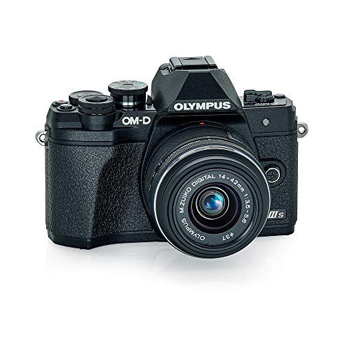 OLYMPUS OM-D E-M10 Mark IIIs Black Body with Black...