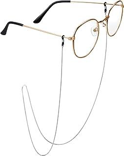 18 كيلو الذهب مطلي سلسلة النظارات الشمسية المنظم حزام النظارات حزام حامل النظارات للنساء والفتيات