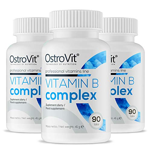 OSTROVIT Vitamin B Complex | Healthy Hair Skin Nails | Increase Energy | Improve Metabolism (270 Tablets)