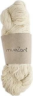 Muezart 100% Natural Eri Silk Yarn for Knitting, Weaving, Crocheting | 60/6