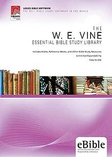 W. E. Vine Essential Bible Study Library by W. E. Vine (2009-12-01)