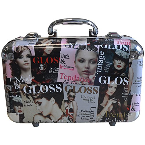 Gloss - Mallette de maquillage XXXL incluant 4 vernis - Design Beauty Tendance Color