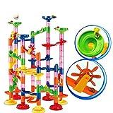QiKun-Home Marble Run Race Coaster Set Run Railway Toys Juguetes de construcción Bloques de construcción Marble Run Race Coaster Maze Toys para niños Multicolor 1#