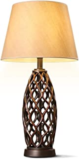 Amazon.es: lampara rustica - Lámpara de Mesa