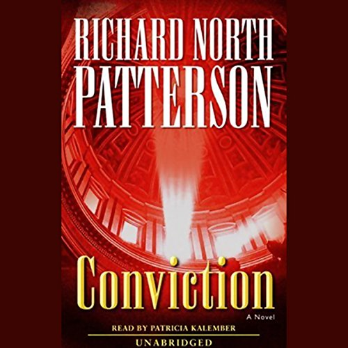 Conviction audiobook cover art