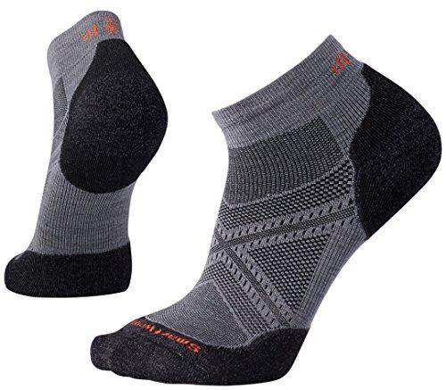 Smartwool Herren PhD Run Light Elite Low Cut Socken, Grau (Graphite), L