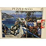 Educa - Puzzle 5000 piezas 'Balcón en Ponza'