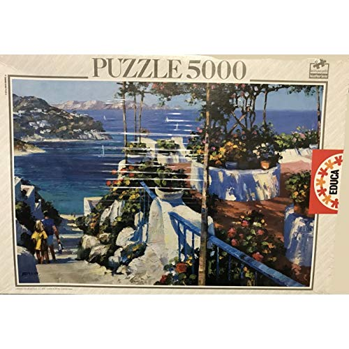 Educa - Puzzle 5000 Piezas Balcón en Ponza