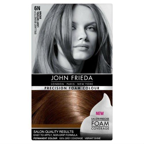 John Frieda Espuma precisión color marrón claro