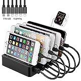 estación de carga para varios dispositivos Quick Charge...