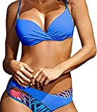 UMIPUBO Conjunto de Bikini Mujer Traje de Baño de Dos Piezas Bolsa rígida...