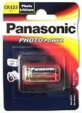 Ukdapper–Pila Panasonic para cámara, CR123A