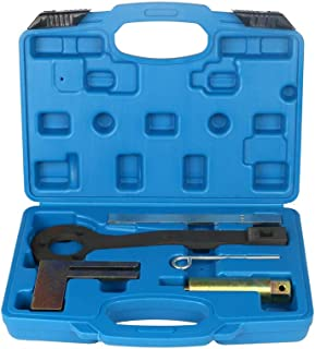 Supercrazy Engine Timing Camshaft Locking Tool Set Compatible with BMW Mini Citroen Peugeot 1.8 2.0 2.5 3.0 SF0301