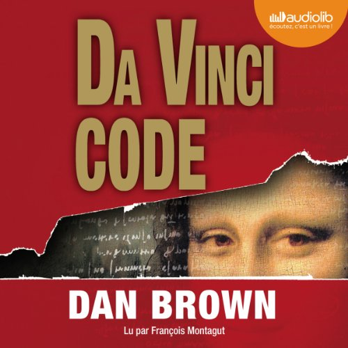 Da Vinci Code audiobook cover art