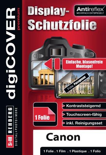 digiCOVER - Protector de Pantalla para Canon PowerShot D30