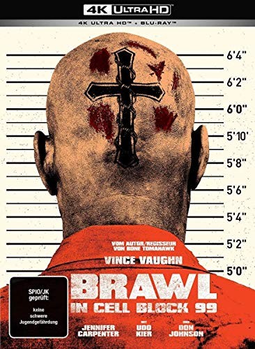 Brawl in Cell Block 99 (Uncut) - 2-Disc Limited Collector\'s Mediabook (UHD + Blu-ray)