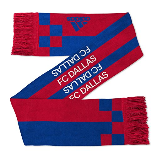 """MLS Fc Dallas Youth Outerstuff """"Fan Stripe"""" Scarf, Team Color , Youth One Size"""