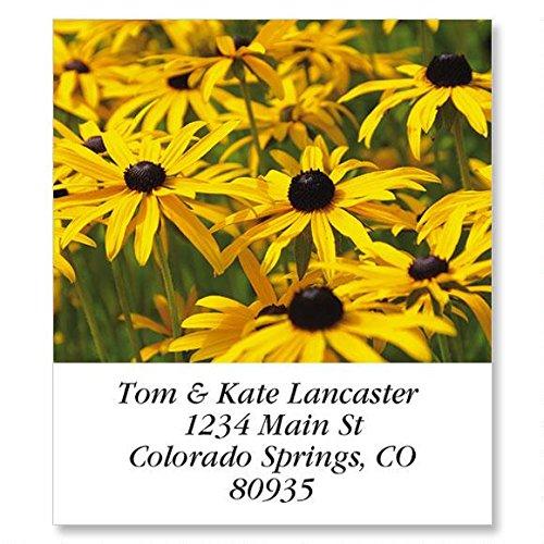 Wild Flora Self-Adhesive, Flat-Sheet Select Address Labels (12 Designs)