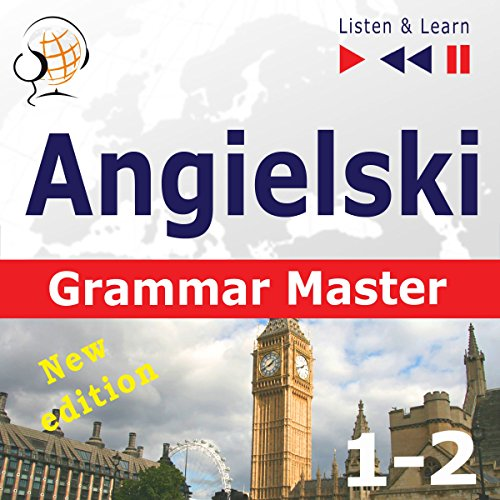 Couverture de Angielski Grammar Master - New Edition - Grammar Tenses / Grammar Practice. Poziom średnio zaawansowany / zaawansowany B1-C1