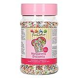 FunCakes Nonpareils Disco: Sprinkles para Tartas, Gran Sabor, Perfecto para Decorar Tartas, Cientos y Miles de Sprinkles. 250g