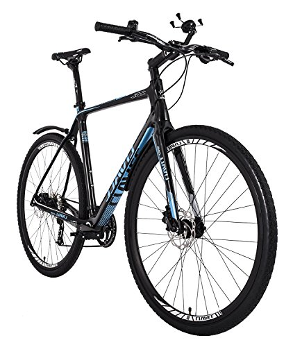Livall O2 Series 9S Smart Bike, Blue, 21'/Large